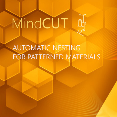 Automatic Nesting for Patterned Materials